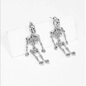 Jewelry - ☠️☠️SKELETON DROP EARRINGS☠️☠️